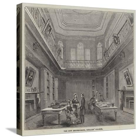 The New Record-Room, Heralds' College--Stretched Canvas Print