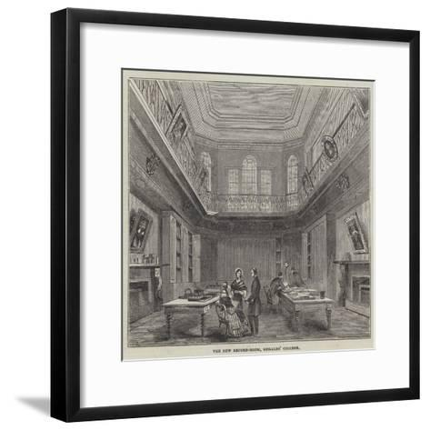 The New Record-Room, Heralds' College--Framed Art Print