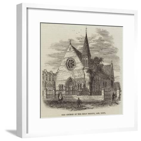The Church of the Holy Trinity, Lee, Kent--Framed Art Print