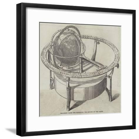 Tellurion Globe for Exhibiting the Motions of the Earth--Framed Art Print