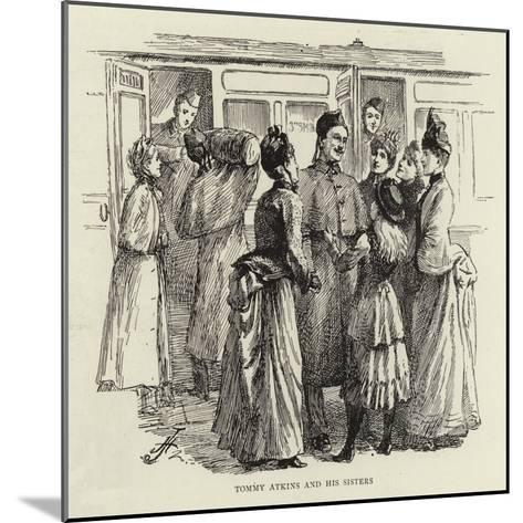 Studies of Life and Character at a Railway Station--Mounted Giclee Print