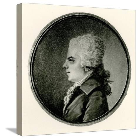 Wolfgang Amadeus Mozart, 1884-90--Stretched Canvas Print