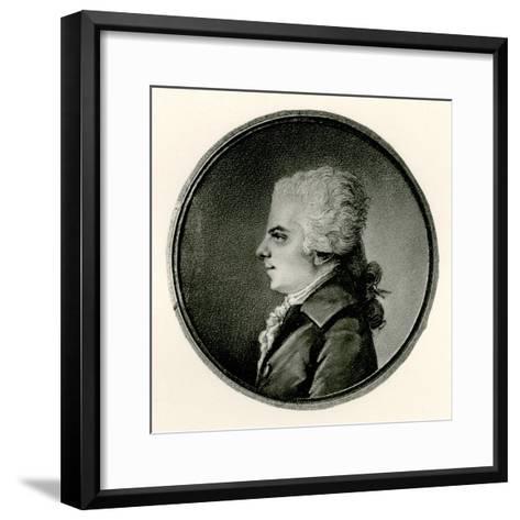 Wolfgang Amadeus Mozart, 1884-90--Framed Art Print