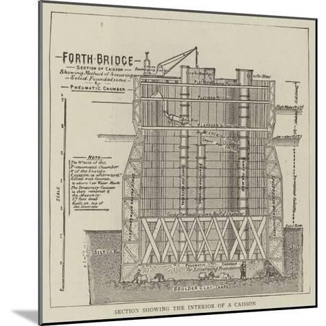 The Forth Bridge--Mounted Giclee Print