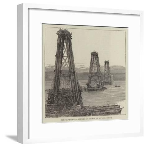 The Forth Bridge--Framed Art Print