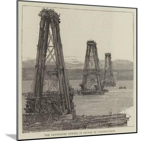 The Forth Bridge--Mounted Giclee Print