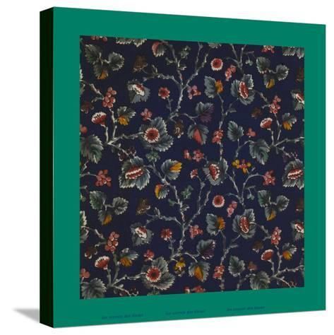 French Fabrics, 1800-50--Stretched Canvas Print