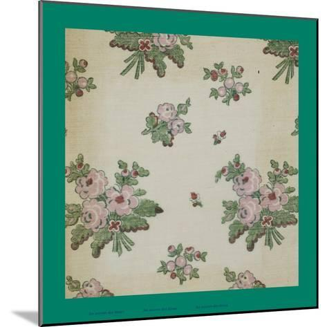 French Fabrics, 1800-50--Mounted Giclee Print