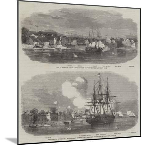 The Capture of Ningpo--Mounted Giclee Print