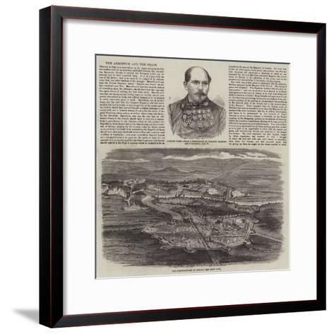 The War in Italy--Framed Art Print