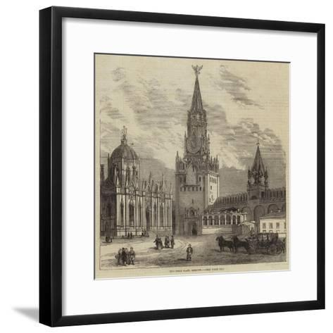 The Holy Gate, Moscow--Framed Art Print