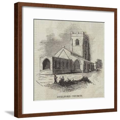 Shelford Church--Framed Art Print