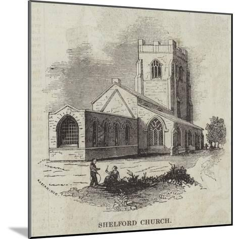 Shelford Church--Mounted Giclee Print