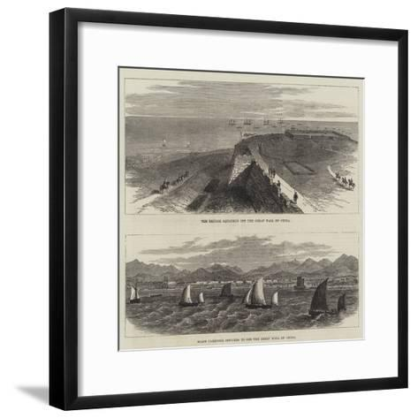 The Great Wall of China--Framed Art Print