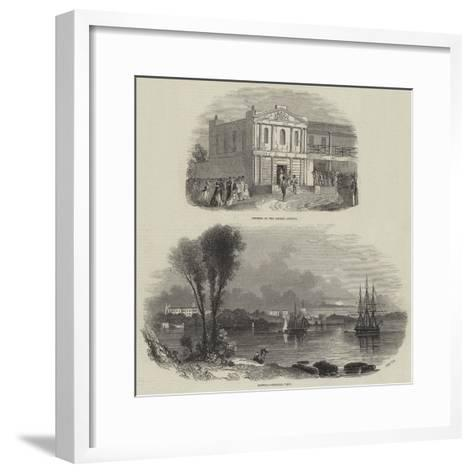 New South Wales--Framed Art Print