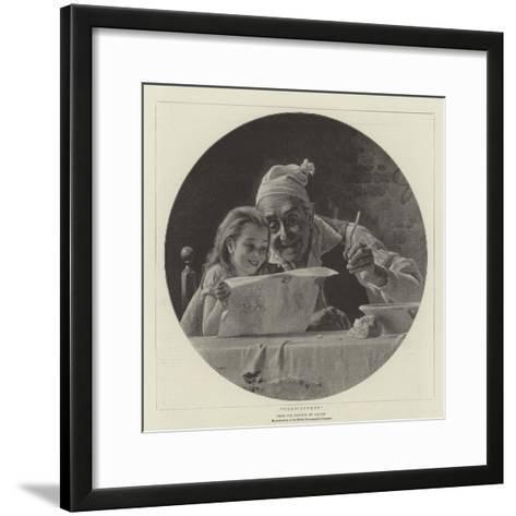 Caricatures--Framed Art Print