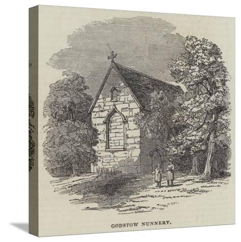 Godstow Nunnery--Stretched Canvas Print