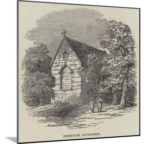 Godstow Nunnery--Mounted Giclee Print