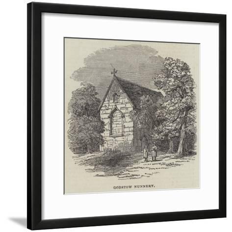Godstow Nunnery--Framed Art Print