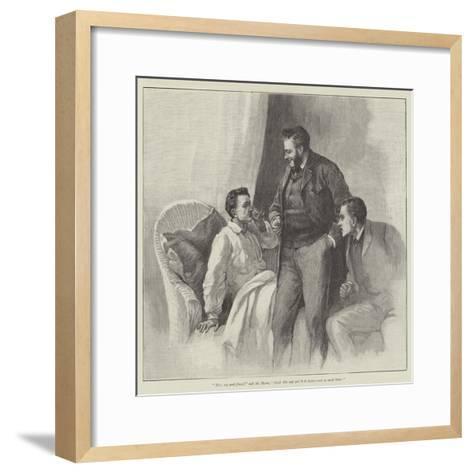 Blind Love--Framed Art Print