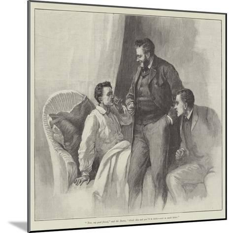 Blind Love--Mounted Giclee Print