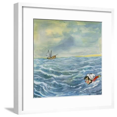 Pinocchio--Framed Art Print