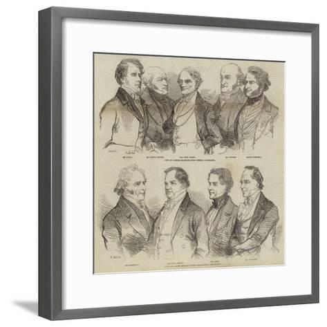 City of London Election--Framed Art Print