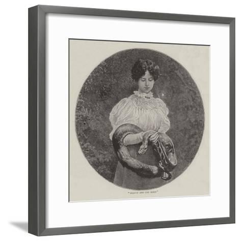 Beauty and the Beast--Framed Art Print