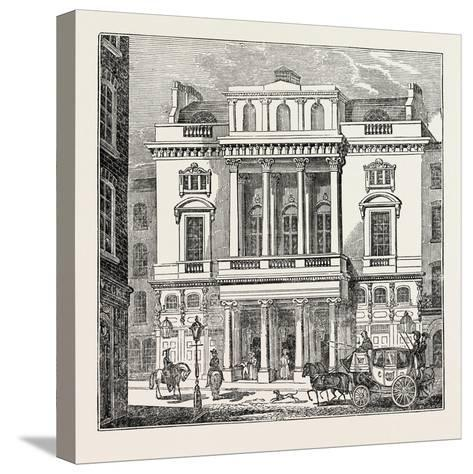 The St. James's Theatre, West End; London; Uk--Stretched Canvas Print