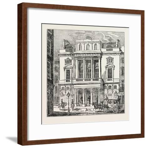 The St. James's Theatre, West End; London; Uk--Framed Art Print