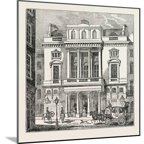 The St. James's Theatre, West End; London; Uk--Mounted Giclee Print