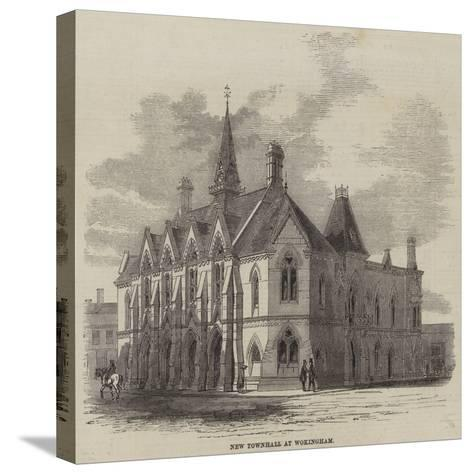 New Townhall at Wokingham--Stretched Canvas Print