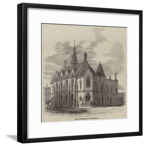 New Townhall at Wokingham--Framed Art Print