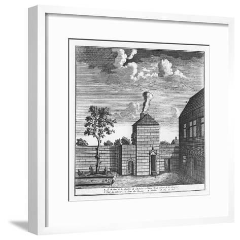 Exterior of the House of François Rabelais in Chinon--Framed Art Print