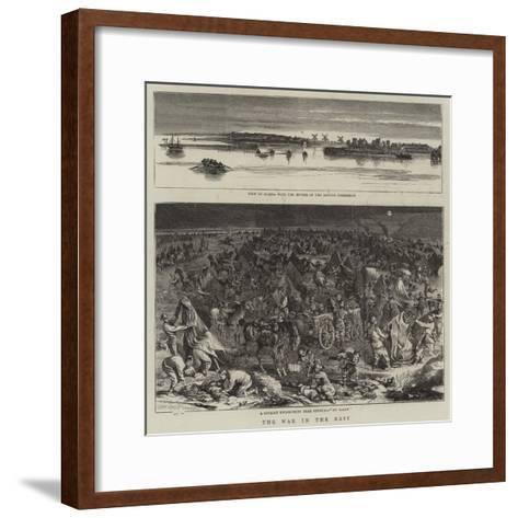 The War in the East--Framed Art Print
