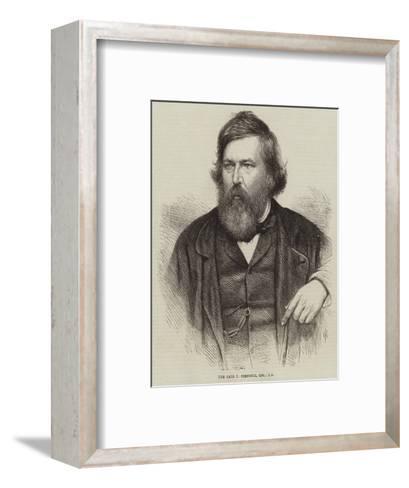 The Late T Creswick--Framed Art Print