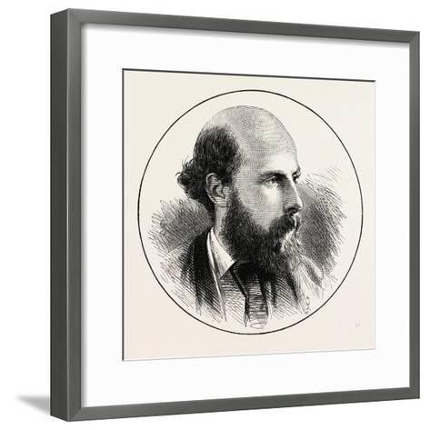 Mr. Edward Jenkins, M.P. for Dundee--Framed Art Print