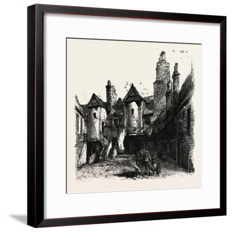 Edinburgh: the White Horse Hostel, Scotland, UK--Framed Art Print
