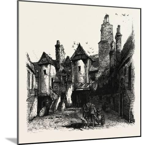 Edinburgh: the White Horse Hostel, Scotland, UK--Mounted Giclee Print