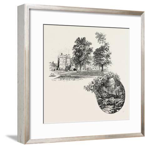 Featherstone Castle and Featherstone Bridge, UK--Framed Art Print