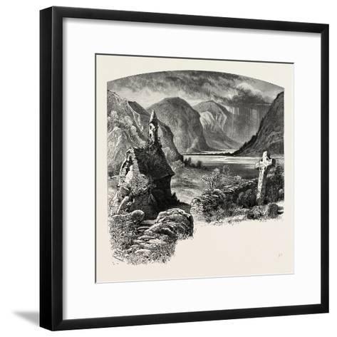 Glendalough, Ireland, 19th Century--Framed Art Print