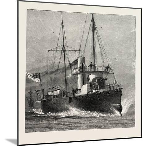 Torpedo Gun Boat, Full Speed-2O Knots an Hour, 1888--Mounted Giclee Print