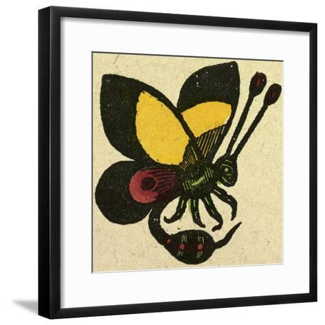Illustration of English Tales Folk Tales and Ballads. a Butterfly--Framed Art Print