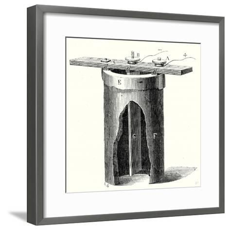 Salt Water Battery of M. Duchemin--Framed Art Print