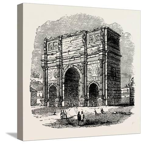 Arch of Constantine, Rome, Italy--Stretched Canvas Print