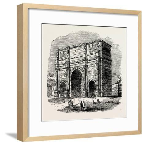 Arch of Constantine, Rome, Italy--Framed Art Print