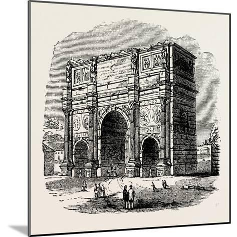 Arch of Constantine, Rome, Italy--Mounted Giclee Print