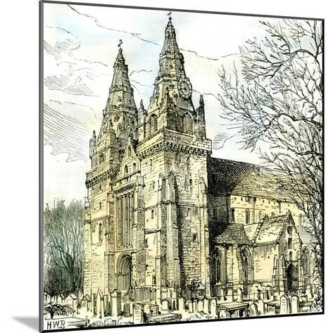 Aberdeen Old Machar Cathedral 1885, UK--Mounted Giclee Print