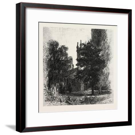 St. Mark's Church, Niagara, Canada, Nineteenth Century--Framed Art Print