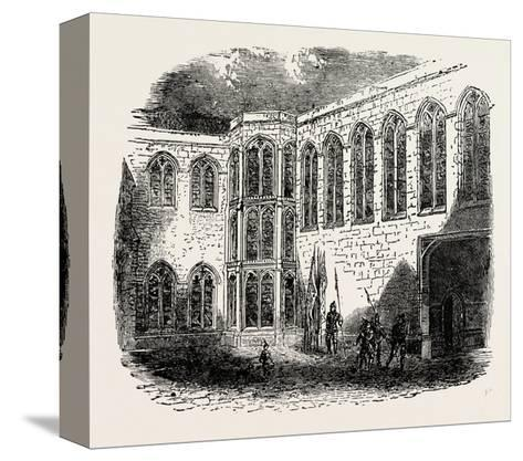 Crosby Place the Palace of Richard III--Stretched Canvas Print